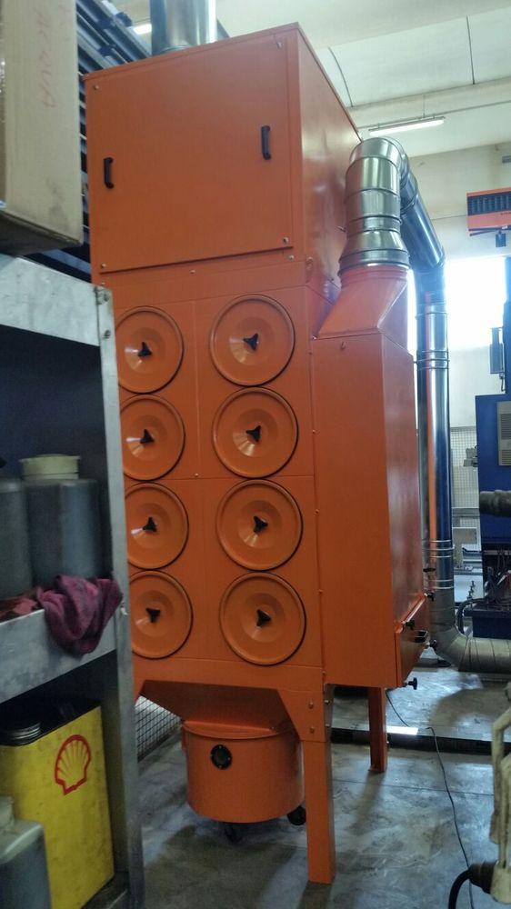 Revisione impianto filtrazione taglio laser - 1